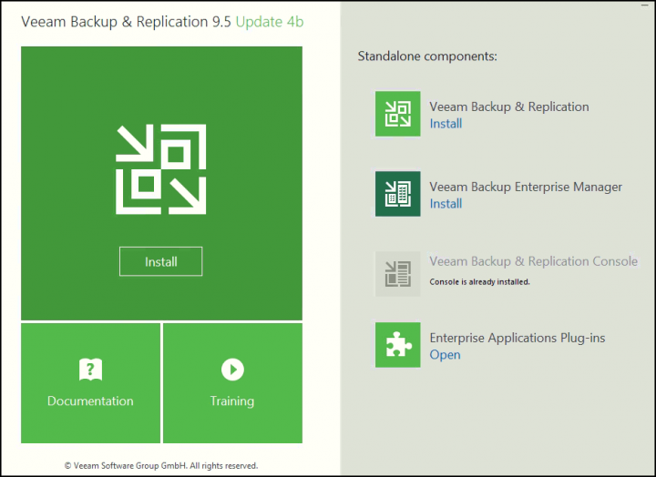Veeam Backup and Replication Update 4b
