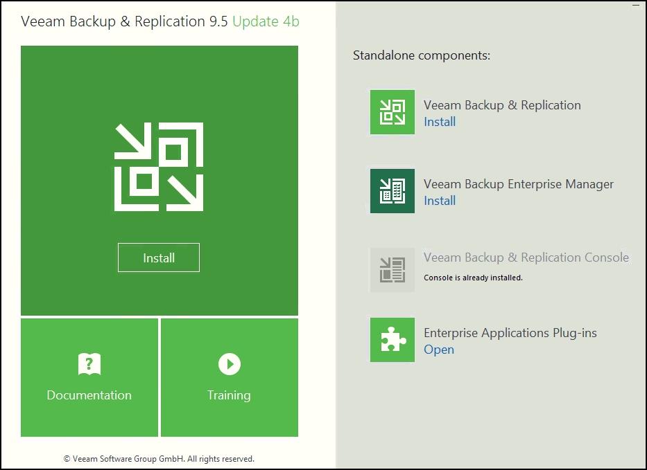 Veeam Backup and Replication 9 5 Update 4b Released | ESX Virtualization