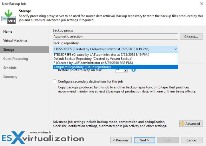 What is Veeam Cloud Connect And How To Setup?   ESX Virtualization