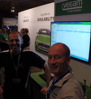 Demo of Veeam v9 during VeeamON