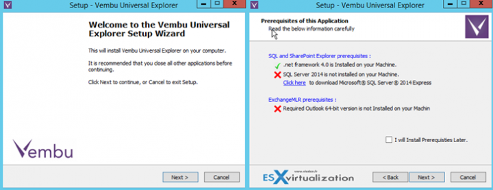 Vembu Universal Explorer - Free Tool