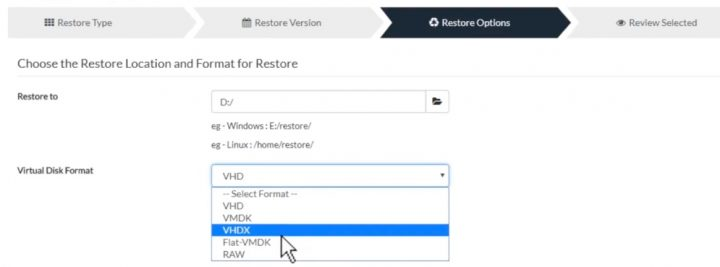 P2V, V2V or V2P Migrations with Vembu BDR | ESX Virtualization