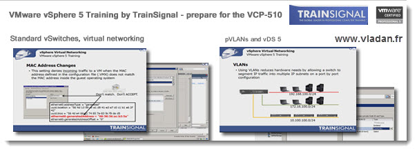 VMware vSphere 5 Trainsignal New Training - vSphere 5 best video training