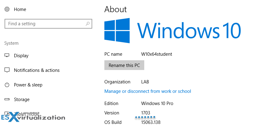 Windows 10 with ReFS For Veeam Backup Repository | ESX