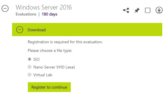Windows Server 2016 Released