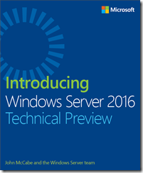 Windows Server 2016 Free E-book