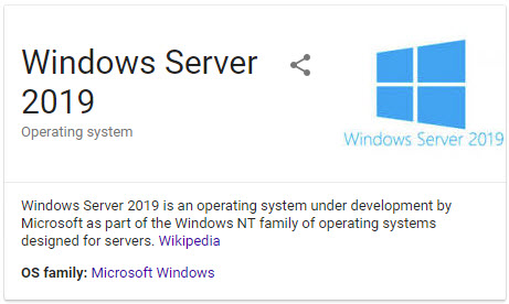 Windows Server 2019 What's New - Insider Preview Build 17666