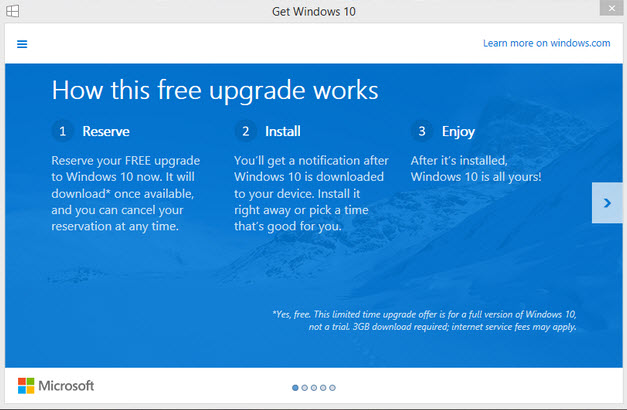 Windows 10 - Free Upgrade