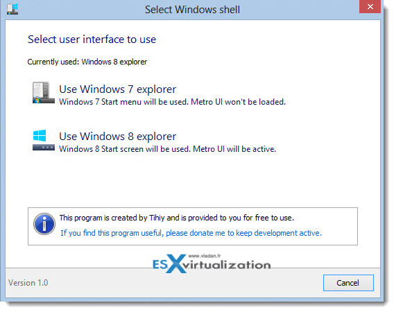 Windows7shell Windows 7 Explorer for Windows 8