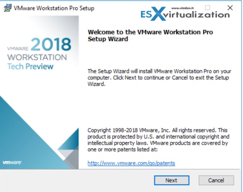 VMware Workstation 2018