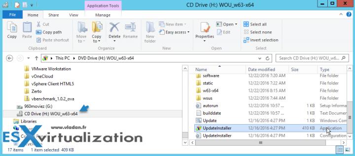 WSUS Offline Update Utility