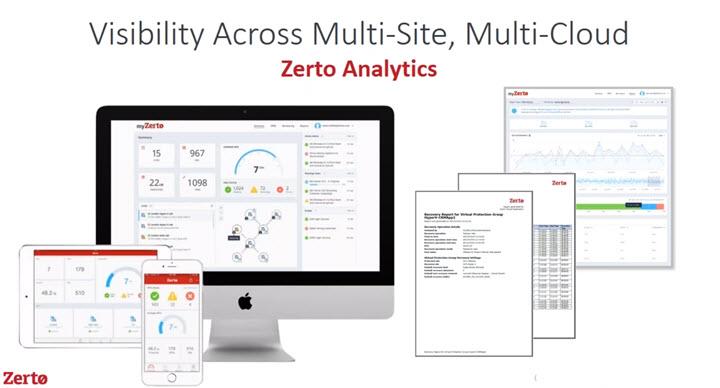Zerto Launching Analytics Resource Planning Tool Esx