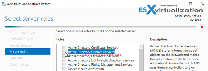 Windows Server 2016 Active Directory Installation