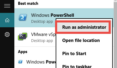 PowerShell Session As an Admin