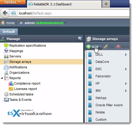 ReliableDR for VMware vSphere – Disaster recovery solution for SMB, Enterprises and Cloud Providers
