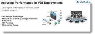 Assuring Performance in VDI Deployments