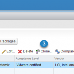 VMware vSphere 6.5 and New Image Builder GUI – Cloning a profile