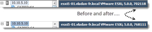 before after How to patch ESXi 5 without vCenter