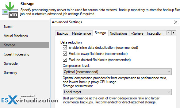 Veeam BitLooker - allows futher reduction of storage space