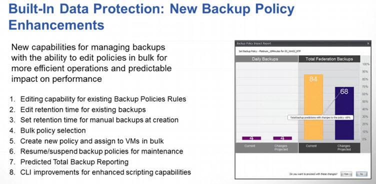 Backup Policy Enhancements