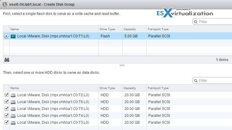 tag SSD as capacity