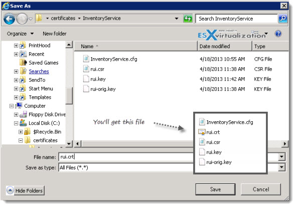 VMware Certificate Automation Tool - How to use | ESX
