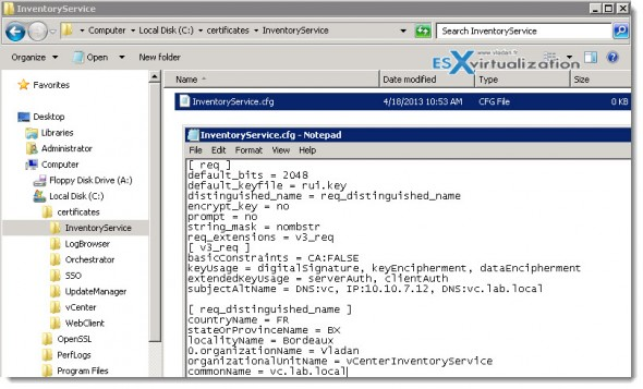 VMware Certificates Automation Tool