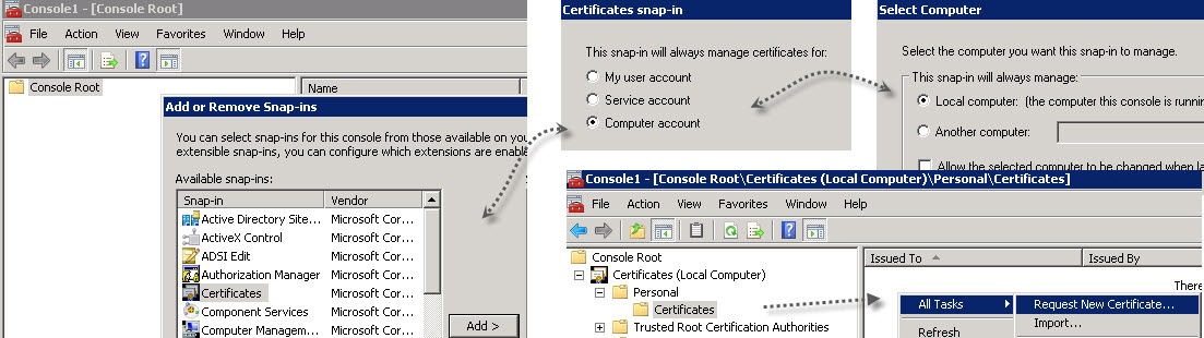 VMware Horizon View Connection Server SSL Certificate How-to   ESX