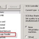 How to change virtual SCSI controler for VMware PVSCSI