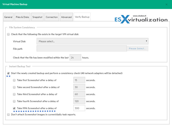 HPE/Trilead Setup First Backup