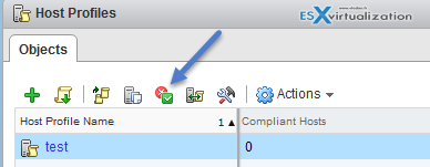 Check Compliance of Host/cluster