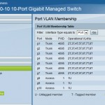 Cisco sg300 port vlan membership