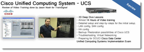 Cisco Unified Computing System (UCS) Training Courses