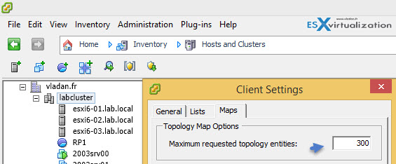 Configure the maximum objects to display