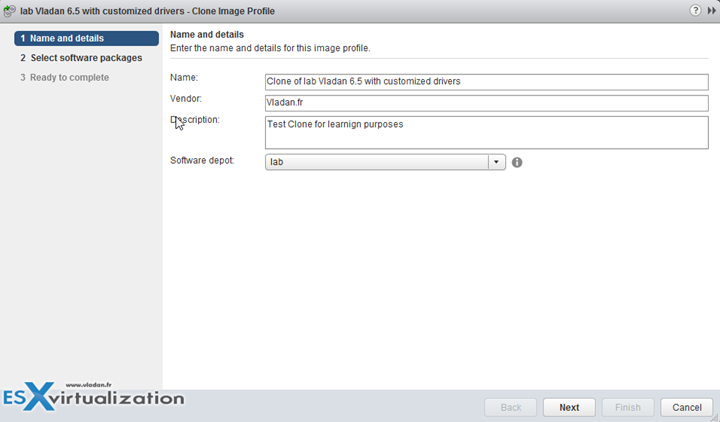 VMware vSphere AutoDeploy and Image Profiles