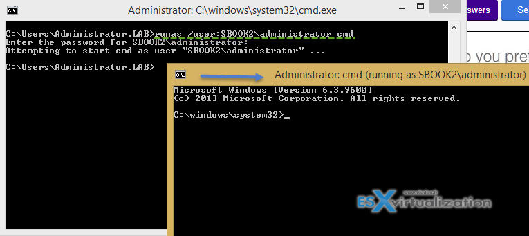 How-to open the command prompt as administrator in Windows 8.1