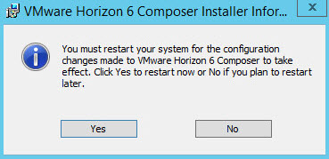 VMware Horizon Composer Installation
