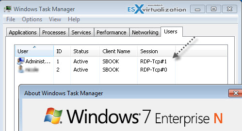 How to enable multiple RDP sessions on Windows | ESX