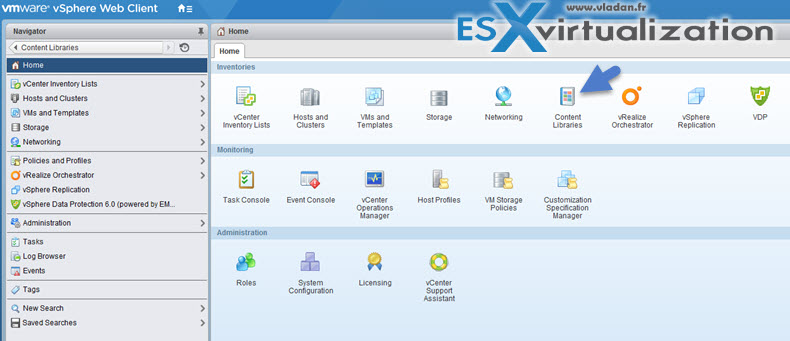 VCP6-DCV Create and Manage a Multi-site Content Library