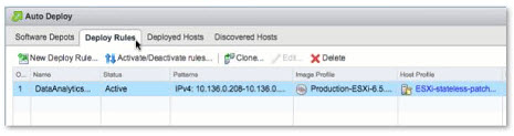 VMware AutoDeploy - Deploy rules