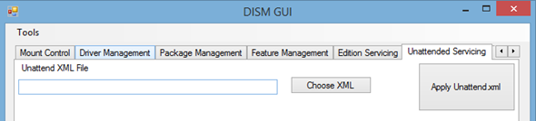 DISM GUI 4.0 - free gui utility for WIM images