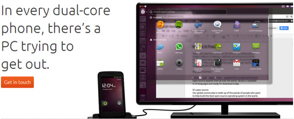dual core android Ubuntu Touch Based