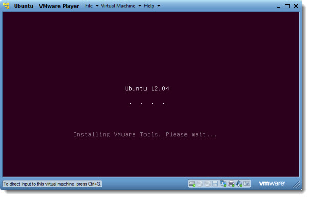 How to install latest Ubuntu desktop Linux in VMware Player