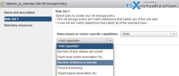 Enable and create VM storage Policy