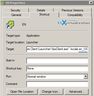 vSphere Client In Different Language [How-to]