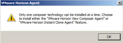 VMware Horizon 7 Instant Clone Technology is exclusive