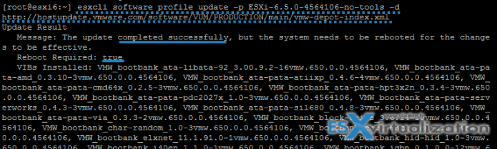 How to Upgrade ESXi 6.0 to 6.5 via CLIi