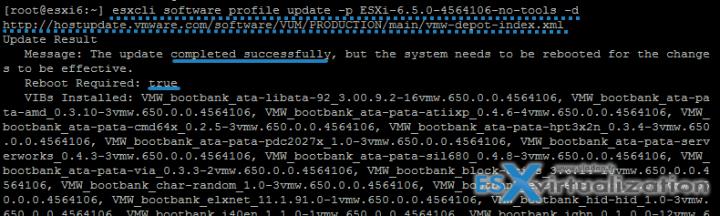 How to Upgrade ESXi 6.0 to 6.5 via CLIi
