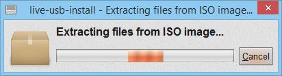 LiveUSB - Install Linux on USB stick