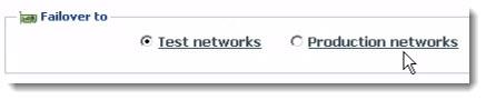 Failover Chose the Network